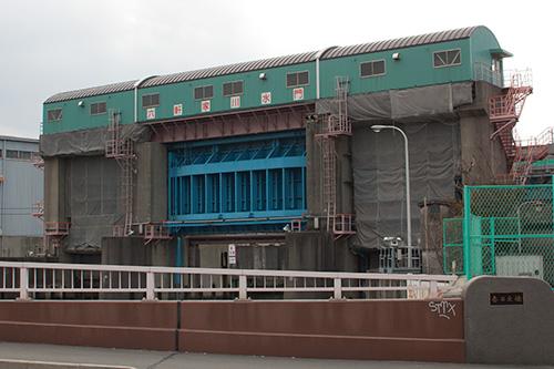 六軒家川水門