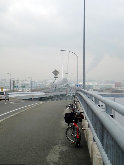 芦屋浜深江浜連絡橋から