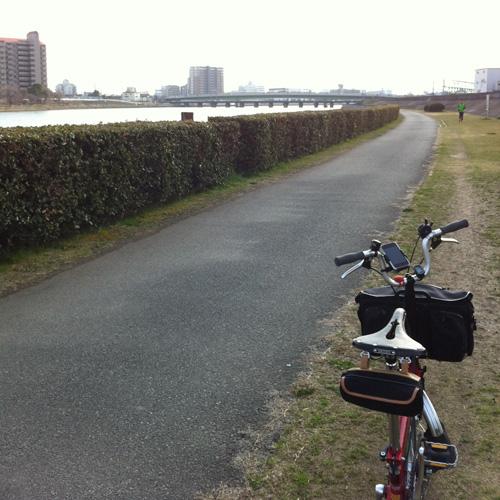 神崎川河川敷
