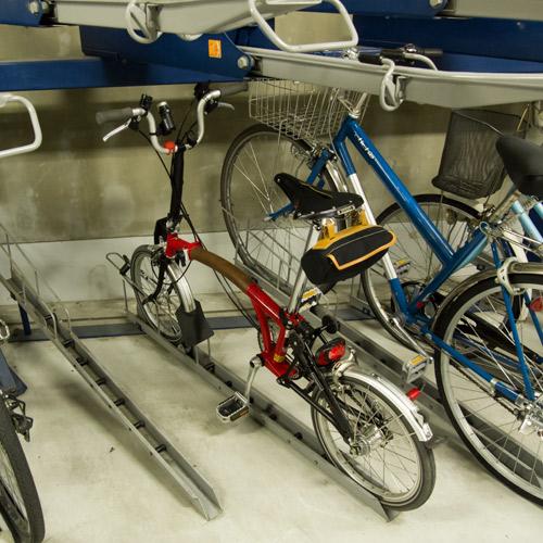 神戸国際会館駐輪場