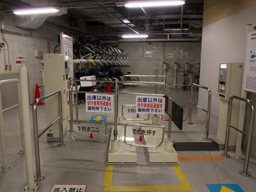 阪急百貨店 駐輪場
