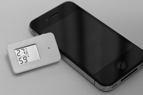 無印良品 携帯用温湿度計