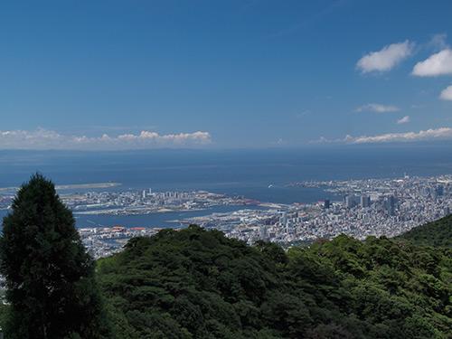 六甲からの眺望