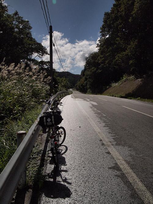 蒜山南下の峠