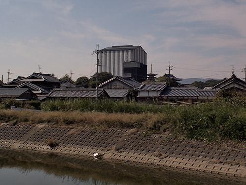 工事中の薬師寺東塔