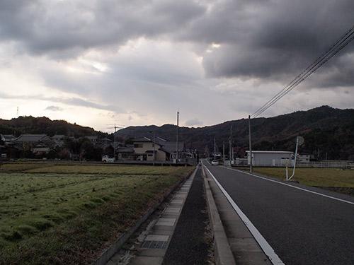 滋賀県道43を南へ