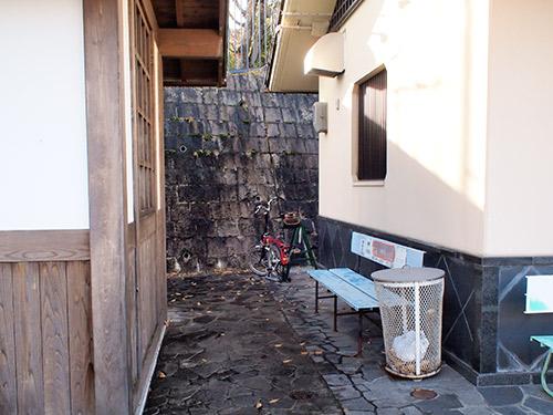 石山寺 駐輪場