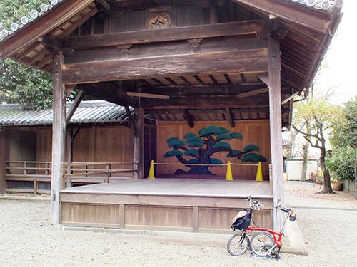 平之荘神社 能舞台
