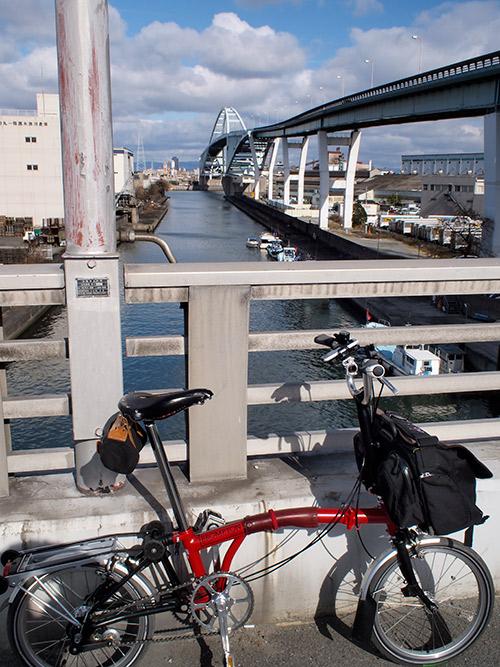 南港筋から木津川新橋
