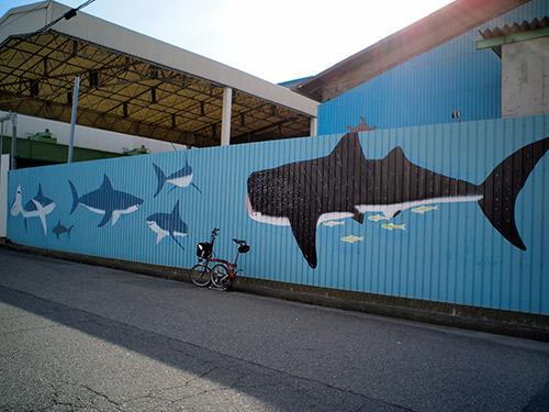 鳴尾浜 工場の壁画