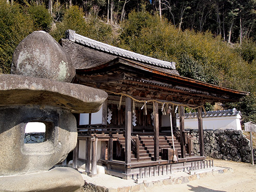 三室戸寺 十八神社