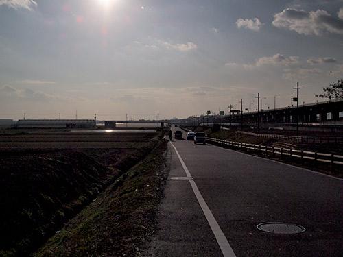 京滋バイパス沿い
