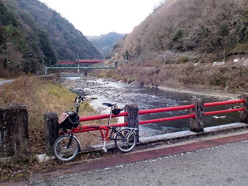 武庫川とJR武田尾駅