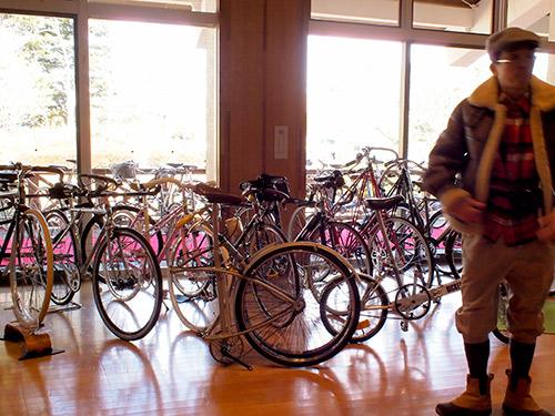 展示自転車
