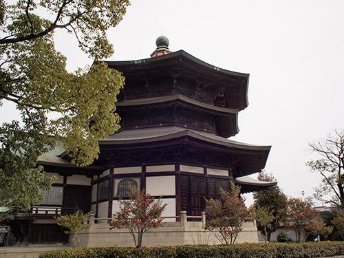 斑鳩寺 聖徳殿