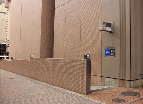 神戸国際会館 駐輪場