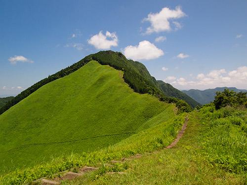 曽爾高原 倶留尊山