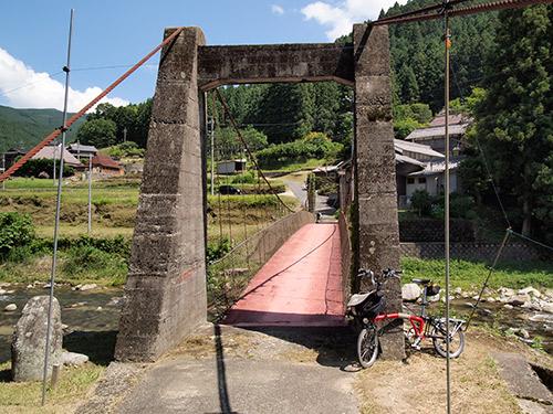 名張川 吊り橋