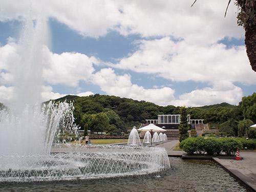須磨離宮公園 キャナル