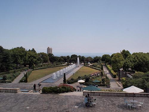 須磨離宮公園 噴水広場