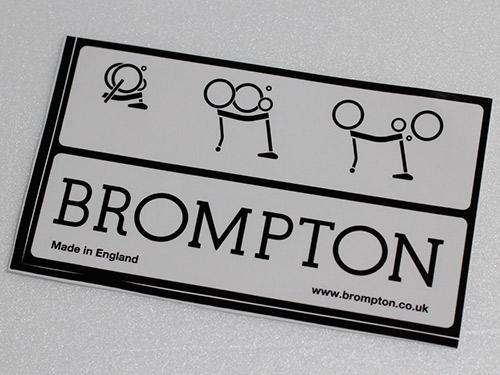 Bromptonステッカー