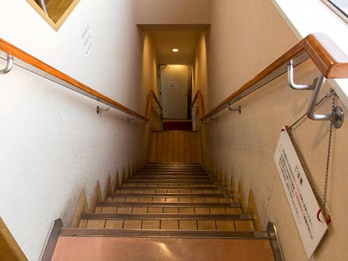 フェリー階段