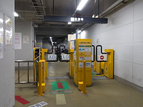 JR高松駅地下駐輪場