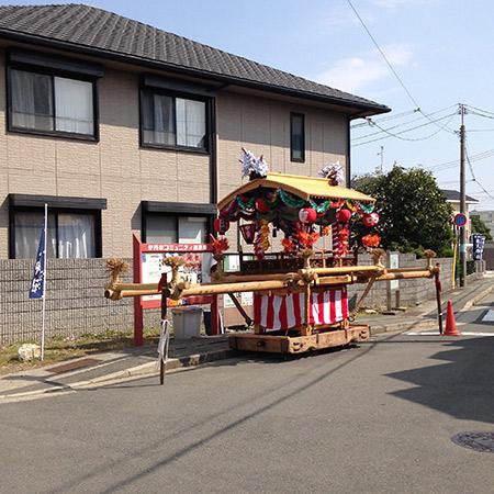 東天神社 山車