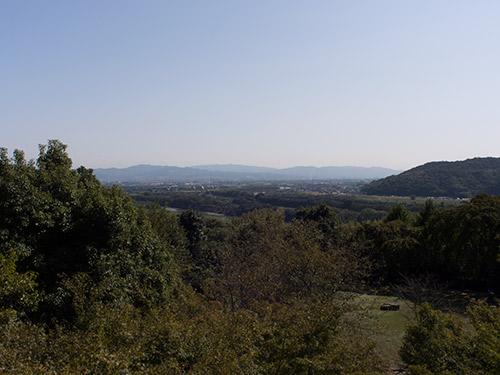 山荘からの眺め