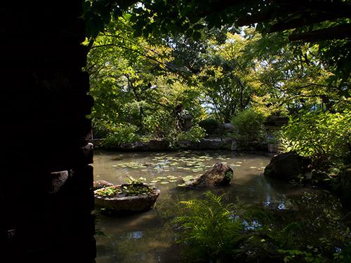大山崎山荘美術館 庭園