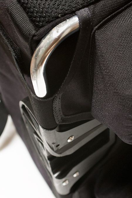 Brompton S Bag & frame, strap etc. with Std black flap