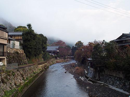 早朝の高野川