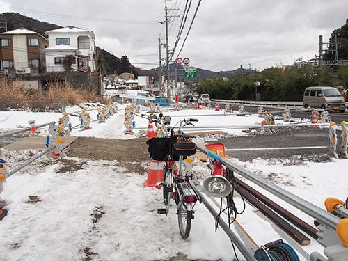 有馬街道 積雪