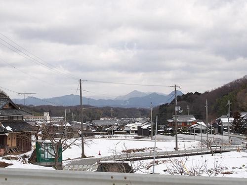 神戸市北区 雪景色