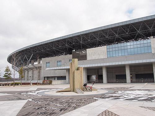 県立三木総合防災公園 陸上競技場