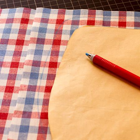 表布と型紙