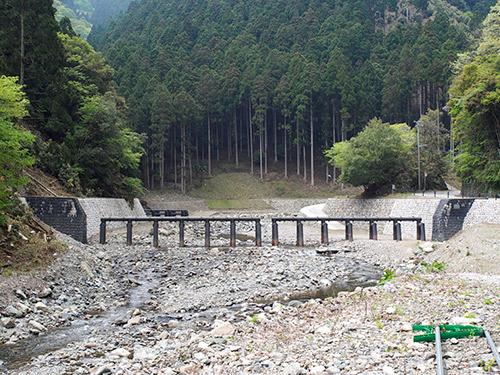 神子畑川 砂防ダム