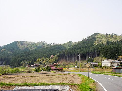 宍粟の山並