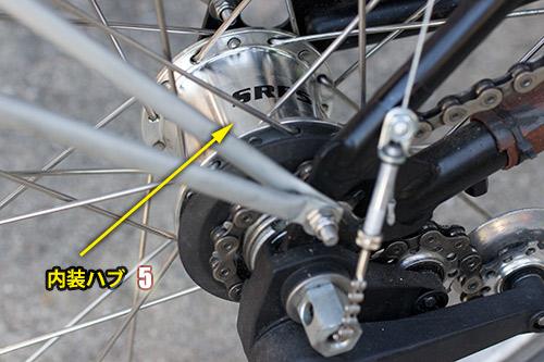 Geared Hub - 5