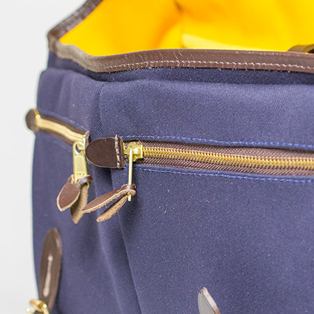 Game Bag zipped pockets