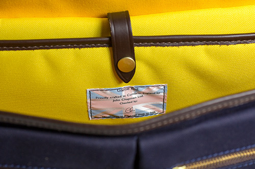 Game Bag tag