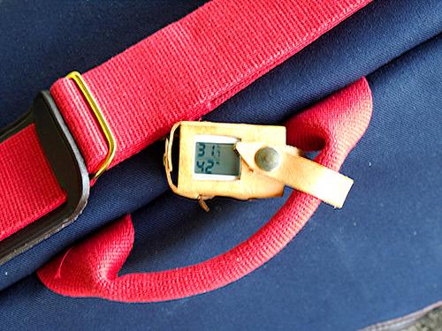 無印良品 携帯温湿度計