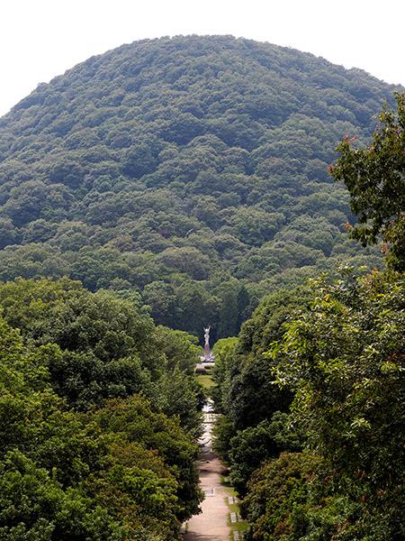 甲山森林公園と甲山