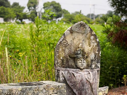 浄土寺歓喜院 石仏