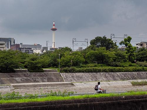 京都駅方面