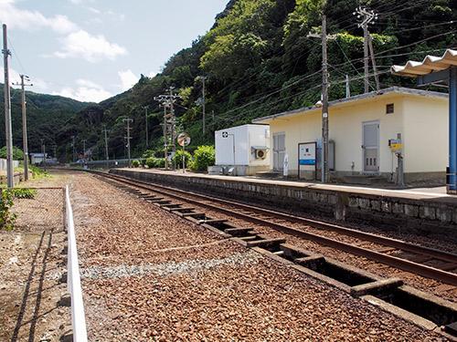 JR山陰本線 鎧駅