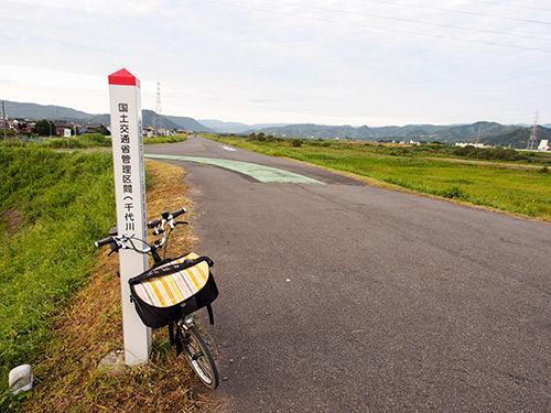 千代川 因幡自転車道