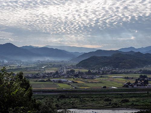 河原城からの眺め