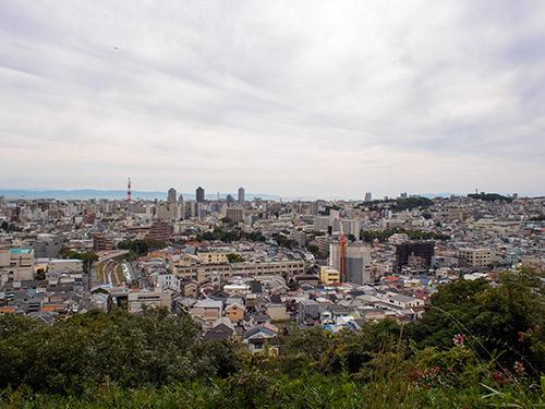 平野展望公園からの眺め