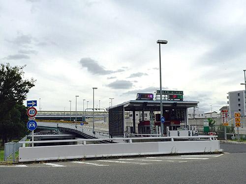 阪神高速 神戸線 湊川出入口